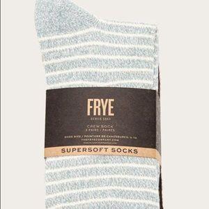 Frye Accessories - Frye Co. Supersoft Crew Socks 3-Pk NWT